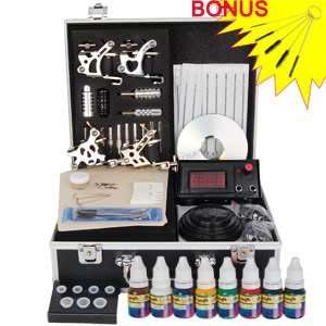 Steampunk Punk 4 Guns Series Tattoo Tattooing Accessories Kit Machine