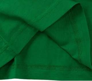 ADIDAS STAN SMITH LOGO GRAPHIC TEE SHIRT Green Gold S