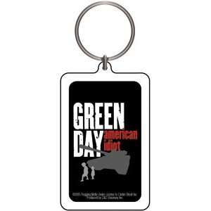 Green Day American Idiot Lucite Keychain K 1651 Toys