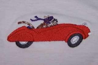 Cool Cheetah Driving a Jaguar Car LS Baby Toddler Shirt