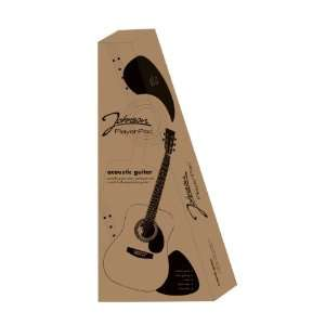 Johnson JG BOX L3/4 Acoustic Guitar PlayerPac, 3/4 Size