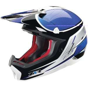 Z1R Nemesis Helmet Full Face Mens Blue X large: Sports