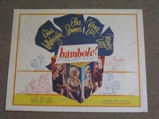 Bambole! 1965 poster Elke Sommer Virna Lisi