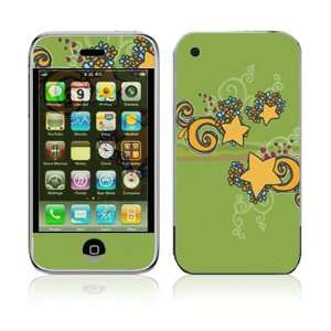 Shooting Stars Decorative Skin Cover Decal Sticker for Apple