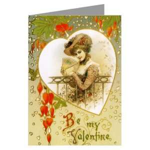 your Love Vintage Valentines Day Greeting Card   10x13 inch Office