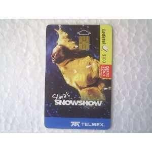 Mexican Phone Card Ladatel Telmex Slavas Snowshow 2007
