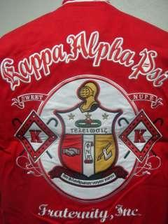 Kappa Alpha Psi Fraternity Racing style snap up jacket