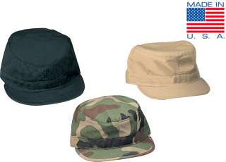 Made in USA Army Patrol Caps, American BDU Field Cap