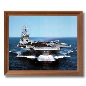 USS Harry Truman Aircraft Carrier Ship Military Wall