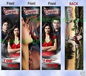 The VAMPIRE DIARIES TV Bookmarks show Books LJ. Smith