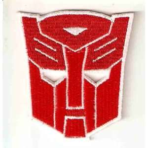 Transformers Autobot Red Logo Embroidered Iron On / Sew On