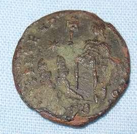Roman Coin Ancient Rome Medal Unique Artifacts Antique Villa Soldier