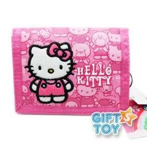 Sanrio Hello Kitty & Friends Tri fold Wallet (Pink)