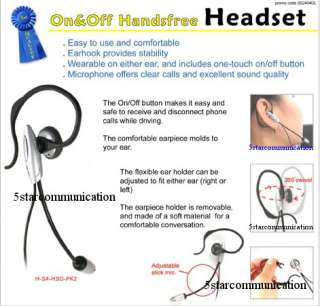 HANDS FREE HEADSET for Verizon GzOne Boulder Cell Phone