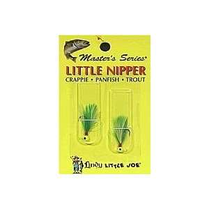 Lindy Little Joe Fishing Tackle Little Nipper Jigs Chartreuse Lime