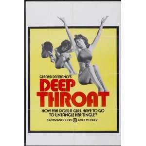 Deep Throat Movie Poster (11 x 17 Inches   28cm x 44cm