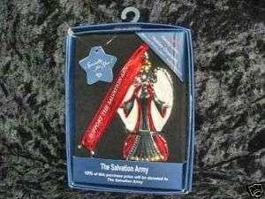 Harvey Lewis Salvation Army Angel Christmas Ornament
