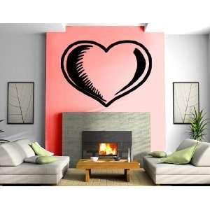 Big Heart Love Valentines Day Romantic Decorative Design