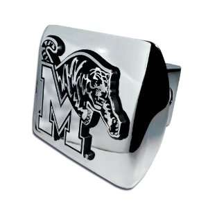 University of Memphis Tigers Bright Polished Chrome with