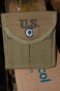 OG WWII US Army Airborne Mint M1 Carbine stock pouch