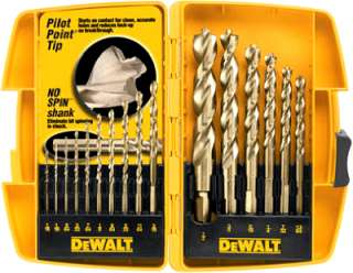 16 Piece Pilot Point Twist Drill Bit Assortment 028877331089
