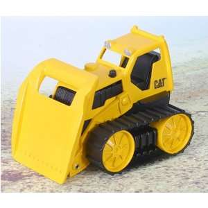CAT 6 in. Mini Vehicles   Bull Dozer: Toys & Games