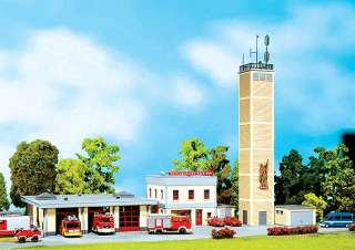 STATION 3 STALL   FIRE HOUSE with TRAINING TOWER & SOUND   KIT