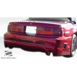 Ford Mustang Duraflex GTX Rear Bumper   Duraflex Body Kits Automotive