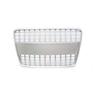 05 10 Audi Q7 Silver Badgeless S Line Style Front Grille