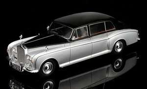 PHANTOM VI MULLINER PARK WARD 1/43 DIECAST CAR MODEL BY TSM