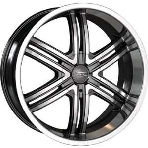 DIP Hack 24x9.5 Matte Black Wheel / Rim 6x5.5 with a 18mm Offset and a