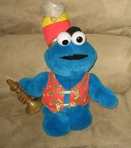 Sesame Street Trumpet Cookie Monster Musical Plush