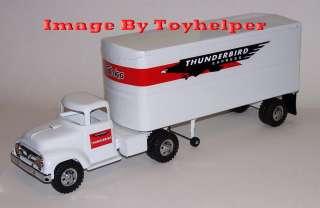 Tonka Truck & Trailer Thunderbird Express Semi Tractor Trailer