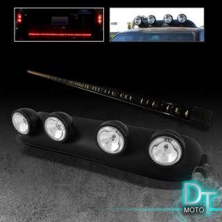 LED TAILGATE TAIL LIGHT BAR + ROOF TOP FOG LIGHT SUV TRUCK 4X4 JEEP