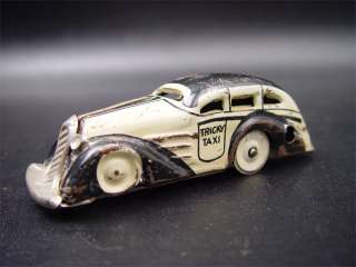 Marx Tricky Taxi Tin Windup Toy Table Top Car
