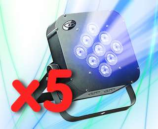 27w RGB Tri Color LED Flat Panel Par Light 64. American, Stage, DJ