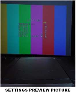 THIS AUCTION IS FOR ONE USED / TESTED JVC DLA M5000SCU DIGITAL