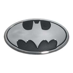 Batman Chrome Oval Emblem Premium Metal Finish Car Truck Motorcycle