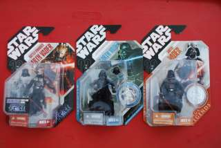 Star Wars DARTH VADER Lot 30th McQuarrie Battle Damaged