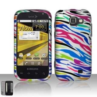 Rainbow Zebra Hard Case For Samsung Transform Accessory