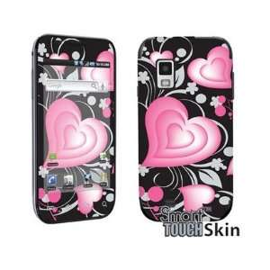 Smart Touch Graphic 3D Lovely Hearts Vinyl Decal Protector