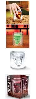 Crystal Skull Head Vodka Shot Glass