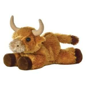 Toro Oro Carmel Brown Bull 8 by Aurora Toys & Games