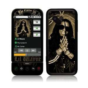 HTC T Mobile G1  Lil Wayne  Gold Skin Cell Phones & Accessories
