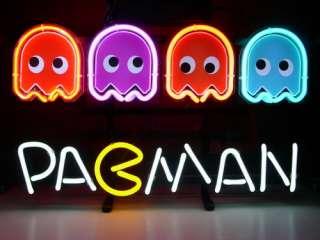 Neon Light Sign Gift Pub Bar Beer Sign Pac Man Pac Man Sign N15