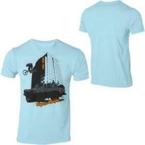 Troy Lee Designs Loco Town T Shirt   Medium/Light Blue