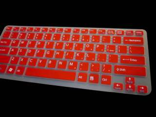 Backlit Keyboard Skin Cover Protector for SONY Vaio 14 C CA / 13.3 S