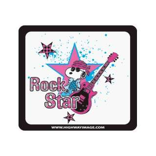Rock Star Snoopy Toll Pass Holder Automotive