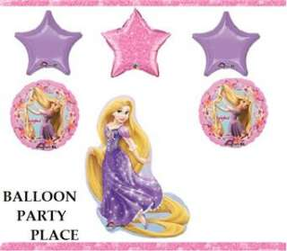 RAPUNZEL tangled birthday party supplies 1st 2nd BALLONS 3RD 4TH