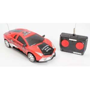 Reventon RC Car with working Headlights and Graffiti Toys & Games